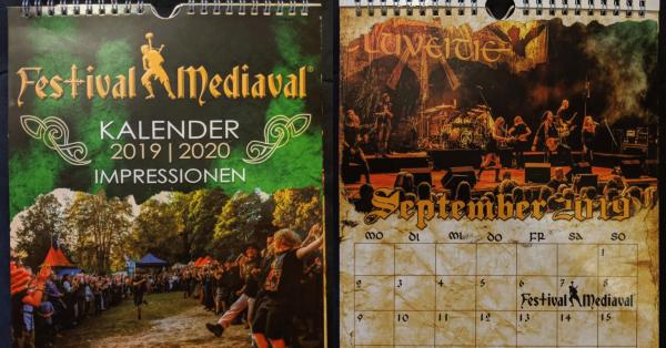 Festival-Mediaval Kalender 2019/2020