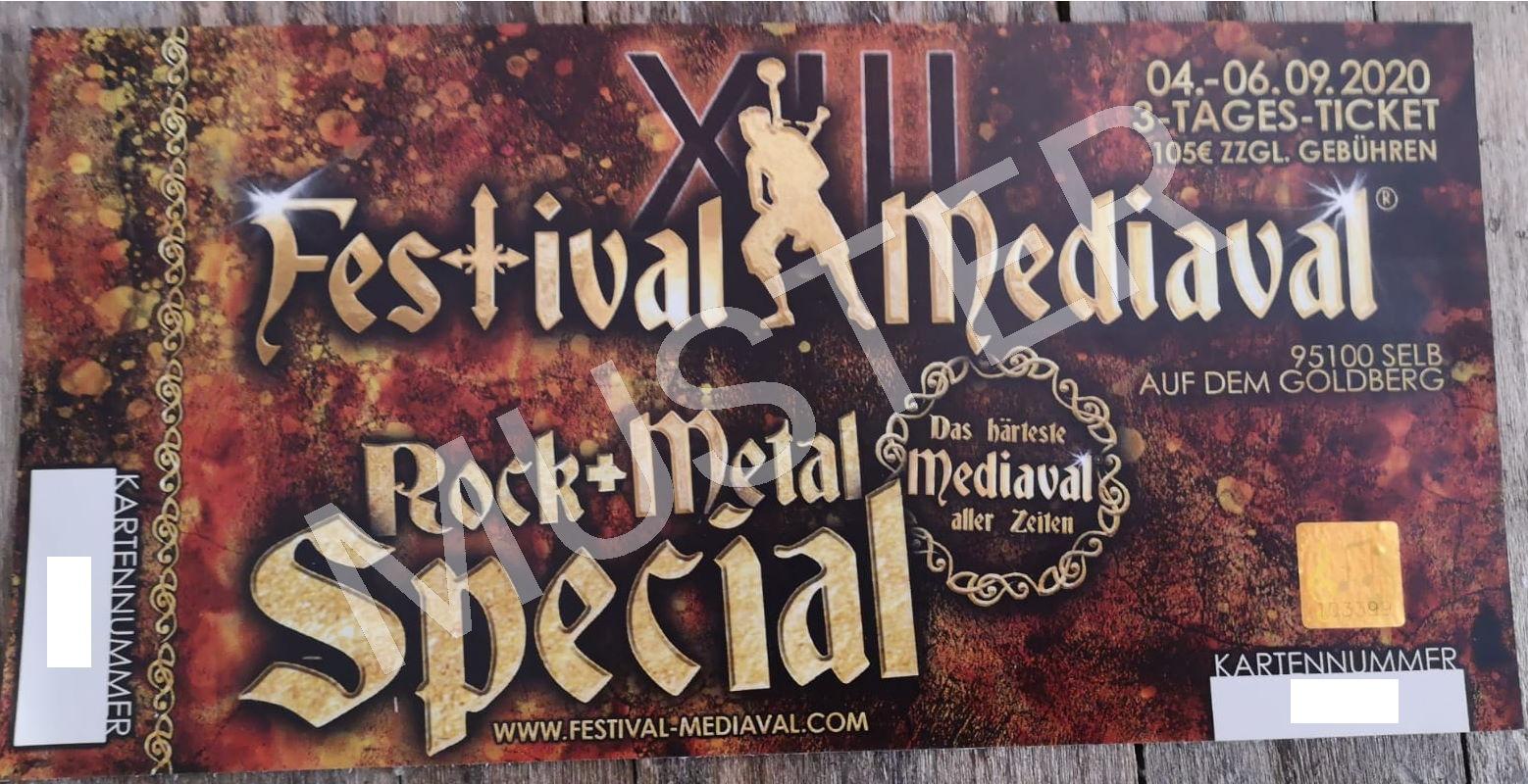 Festival-Mediaval X 2017 Ticket